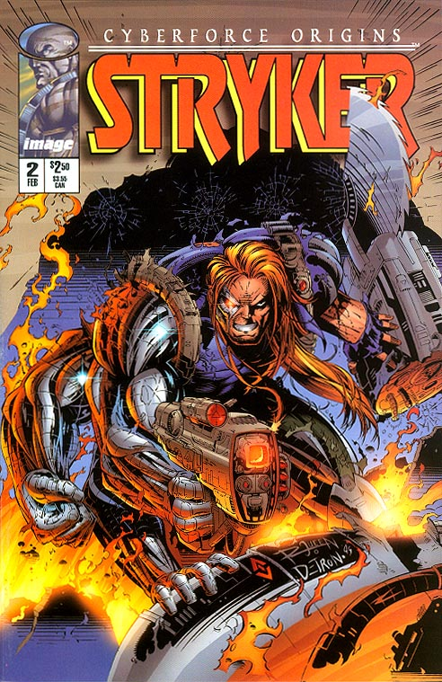 Cyberforce Origins Stryker 2