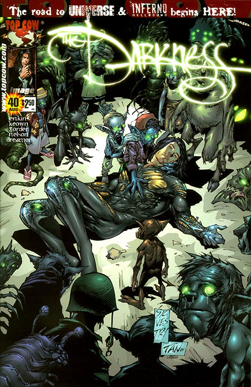 Darkness 40 (Marc Silvestri Cover)