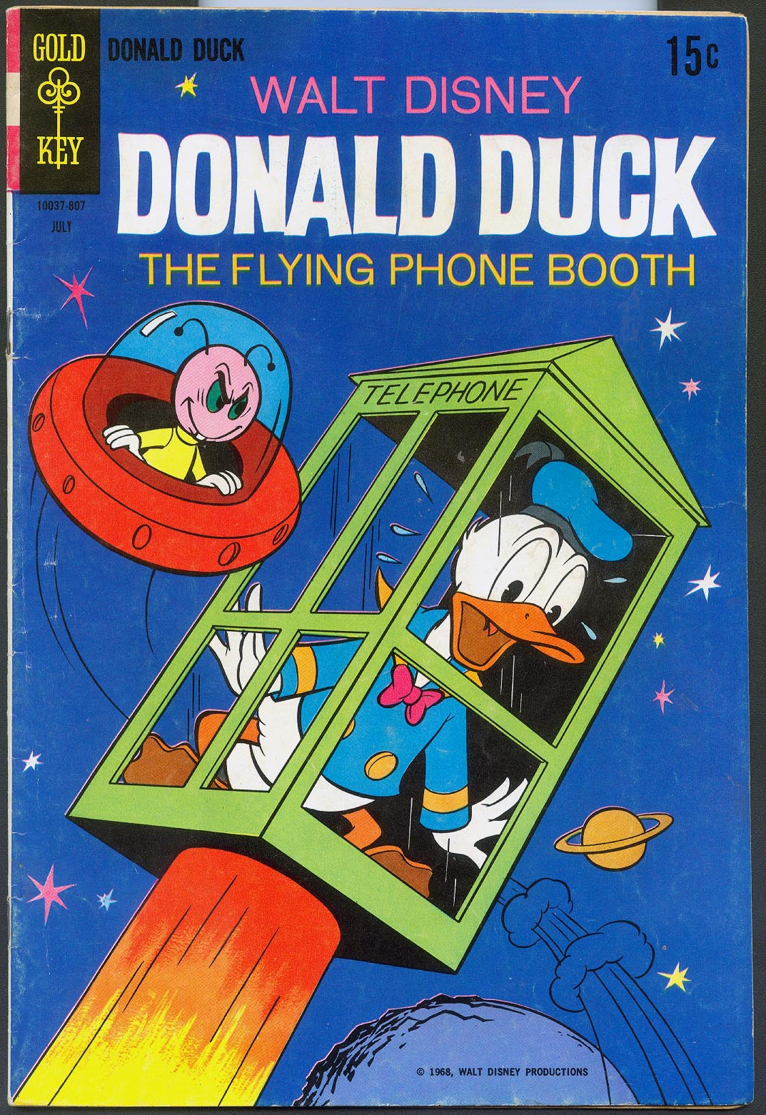 Donald Duck (Gold Key) 120 -F