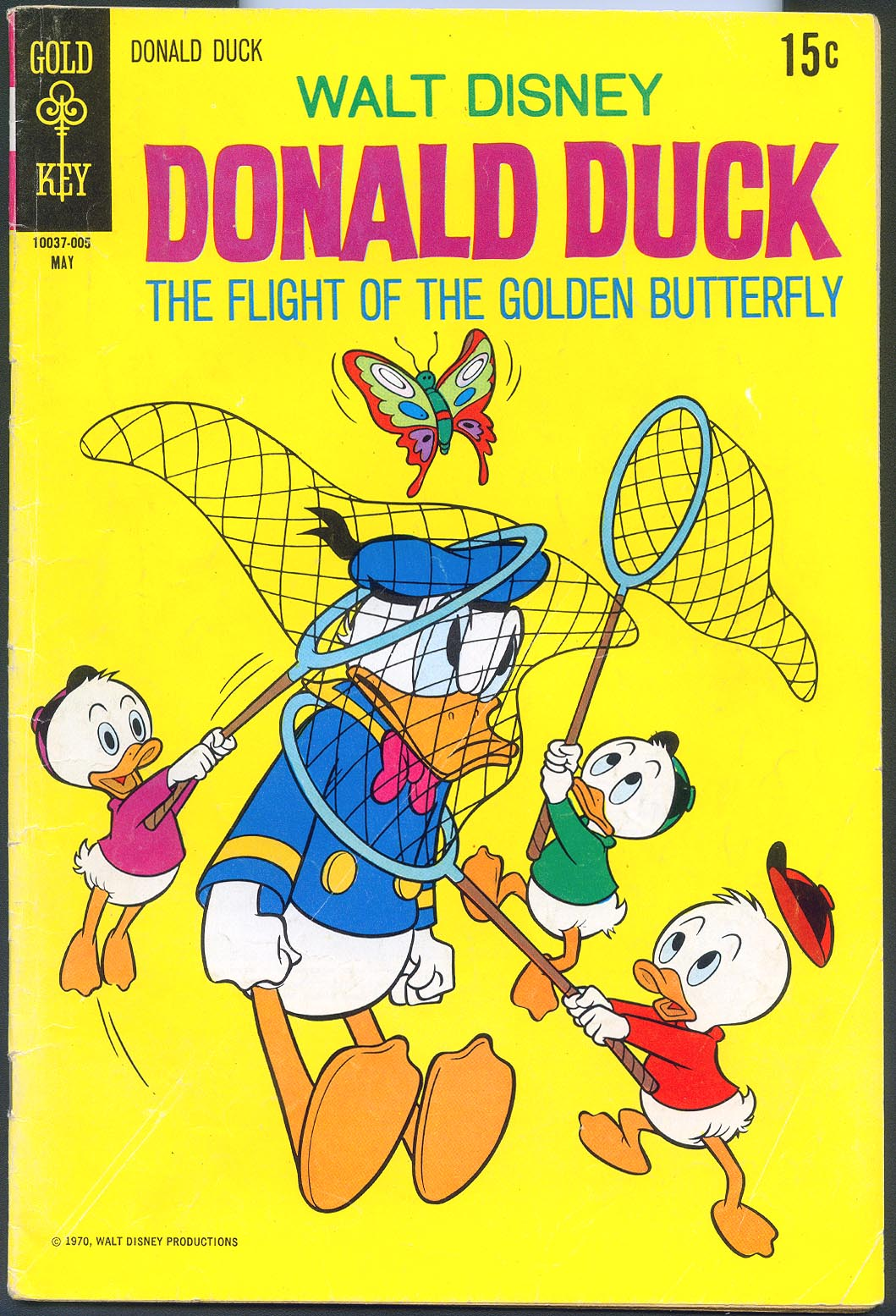 Donald Duck (Gold Key) 131 -F