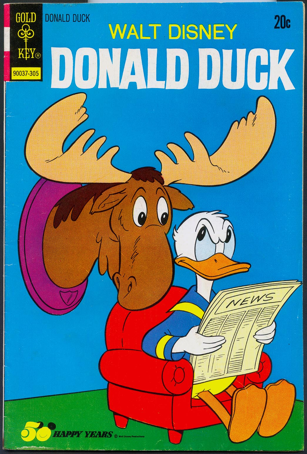 Donald Duck (Gold Key) 149 -VF
