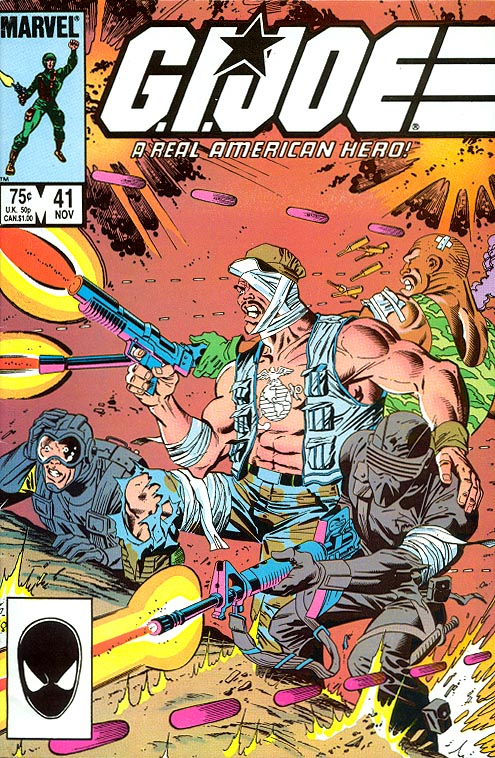 GI Joe A Real American Hero 41 -VF