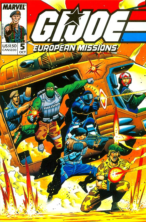 GI Joe European Missions 5 -VF