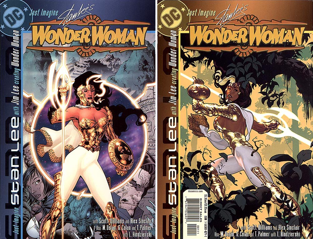 Just Imagine Stan Lees Wonder Woman (Front & Back Covers)