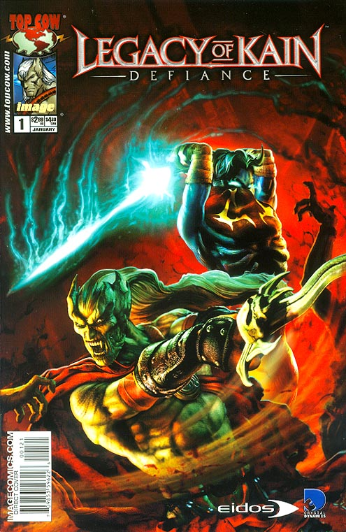 Legacy Of Kain Defiance 1 (EIDOS Cover)