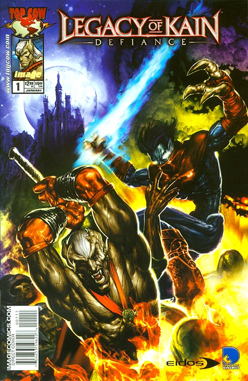 Legacy Of Kain Defiance 1 (Keu Cha Cover)
