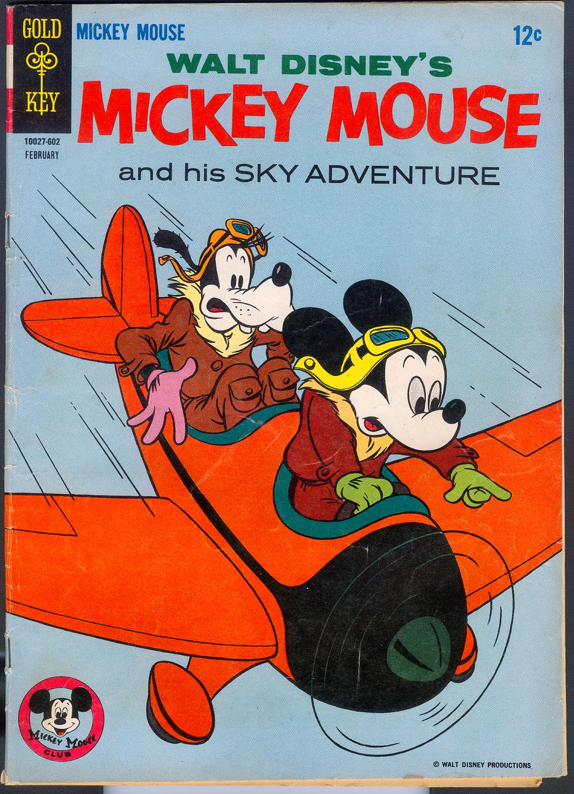 Mickey Mouse (Gold Key) 105 -VG