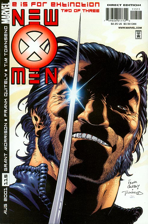 New X-Men 115 (Quitely Cover)