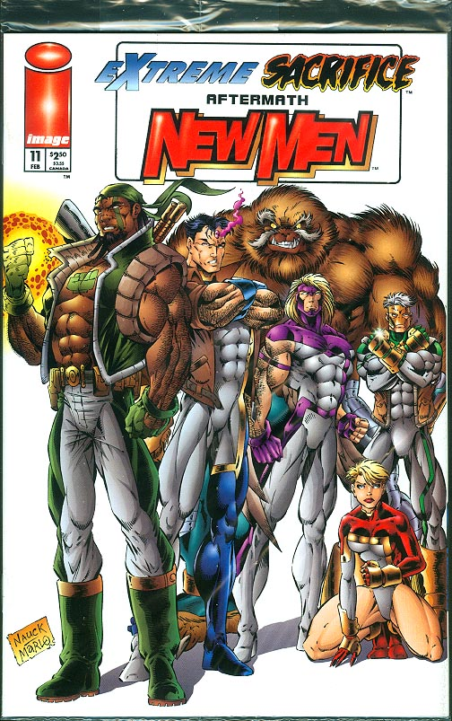 Newmen 11 (Sealed Todd Nauck Group Cover)