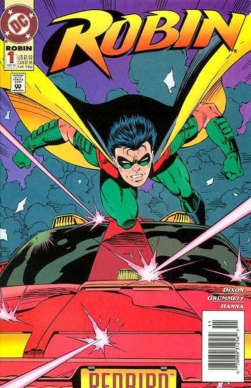 Robin 1 (Regular Cover)