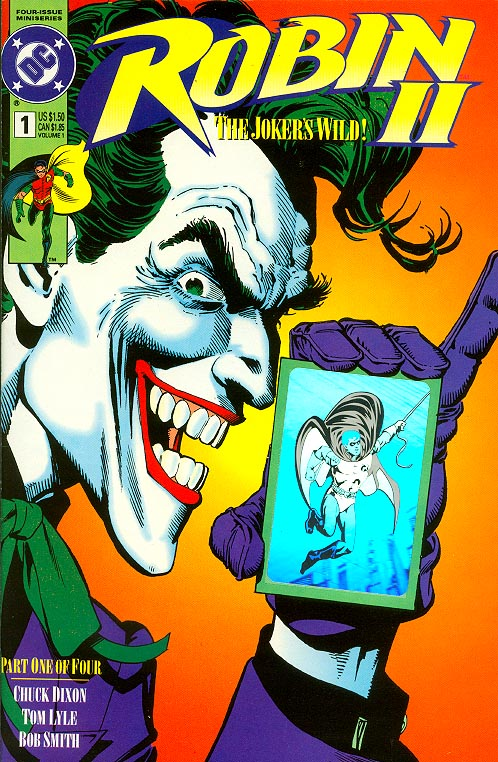 Robin II 1 (Joker Close-Up Cover With Hologram)