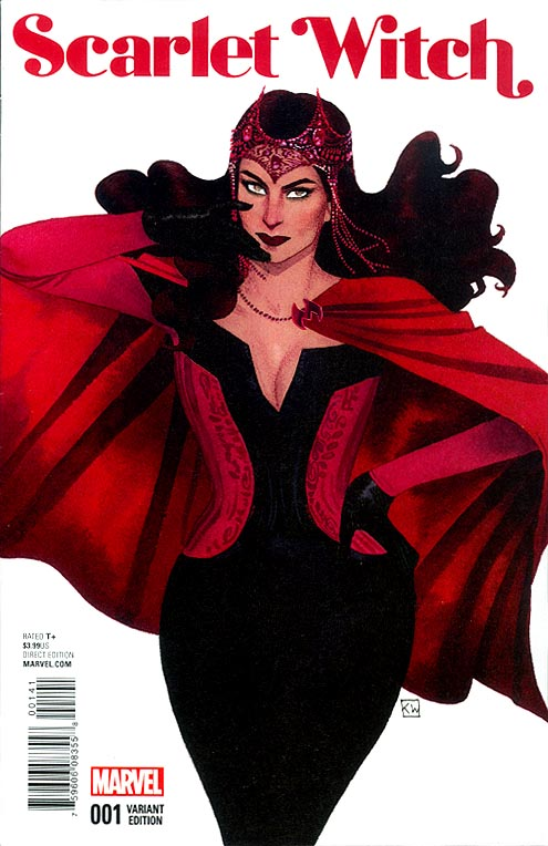 Scarlet Witch vol 2 - 1 ( 1 in 25 Kevin Wada Variant)