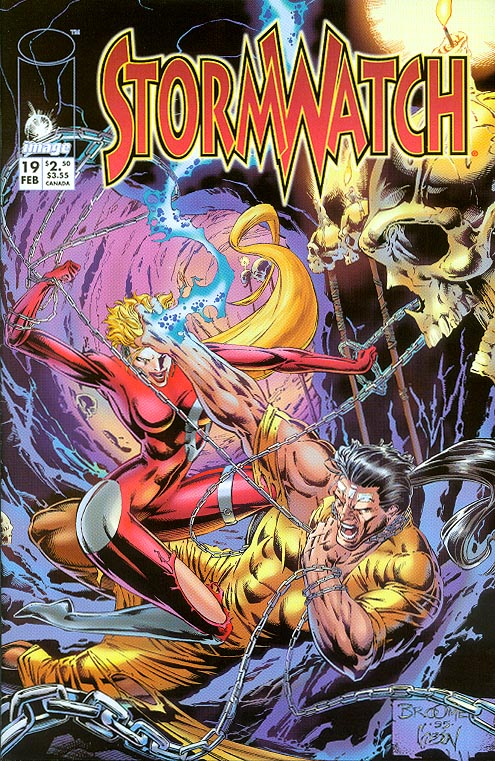 Stormwatch vol 1 - 19