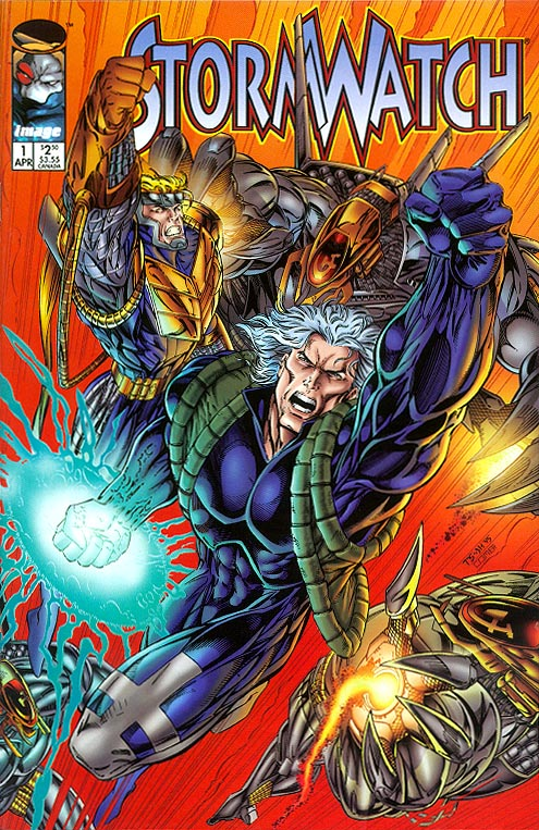 Stormwatch vol 1 - 21 (Incorrect Cover Numbering)
