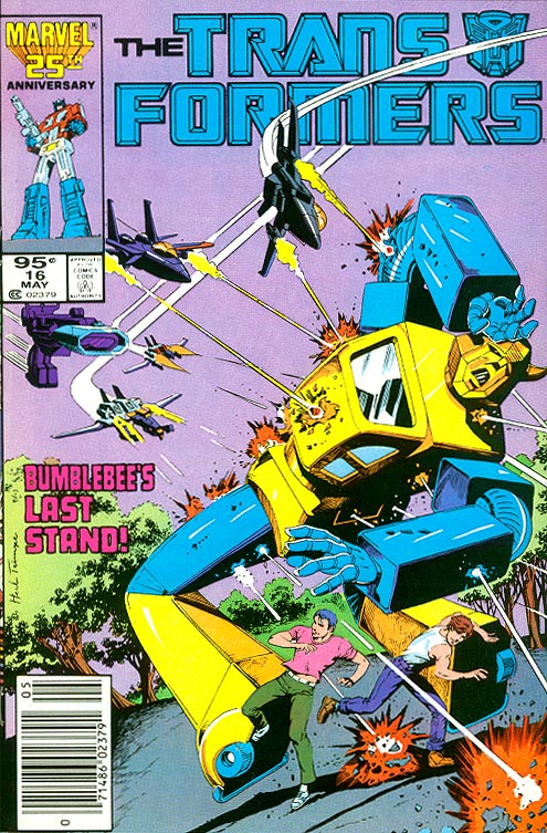 Transformers 16 (Canadian Newstand Price Variant)