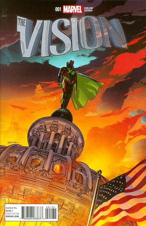 Vision vol 2 - 1 ( 1 in 25 Ryan Sook Variant) -VF