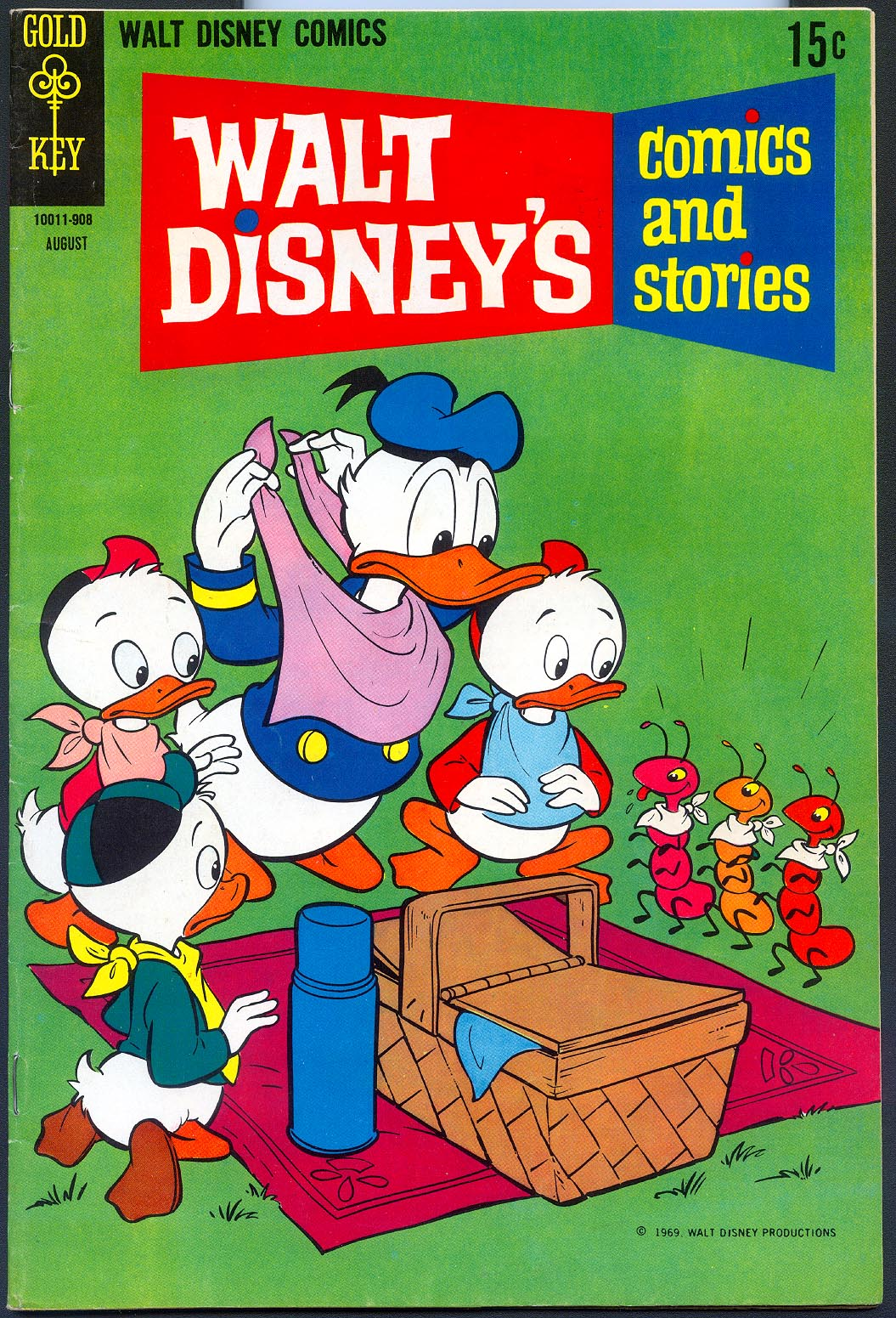 Walt Disneys Comics and Stories (Gold Key) 347 (Also Vol 29 - 11 ) -FVF