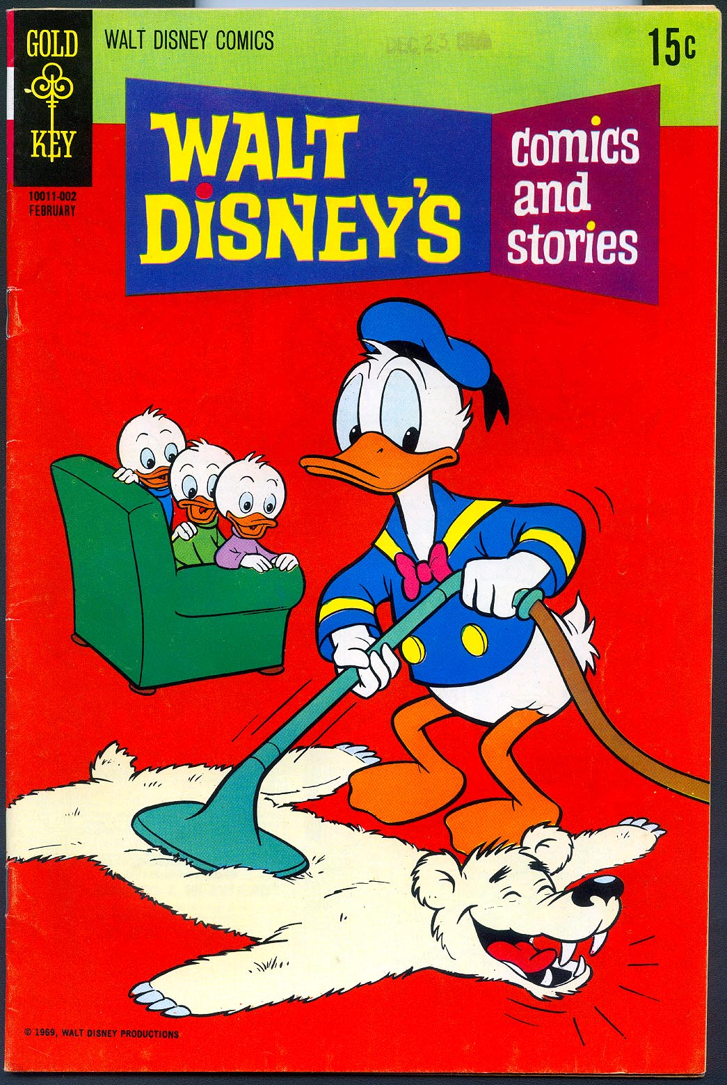 Walt Disneys Comics and Stories (Gold Key) 353 (Also Vol 30 - 5 ) -FVF