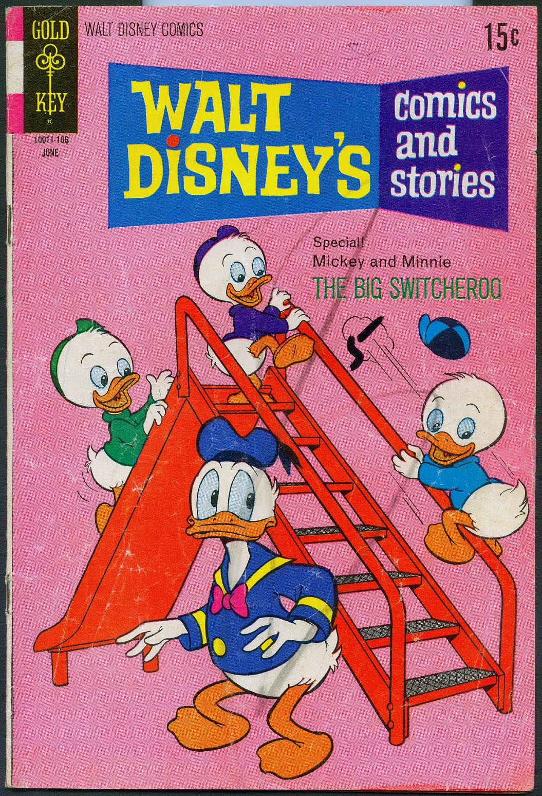 Walt Disneys Comics and Stories (Gold Key) 369 (Also Vol 31 - 9 ) -G