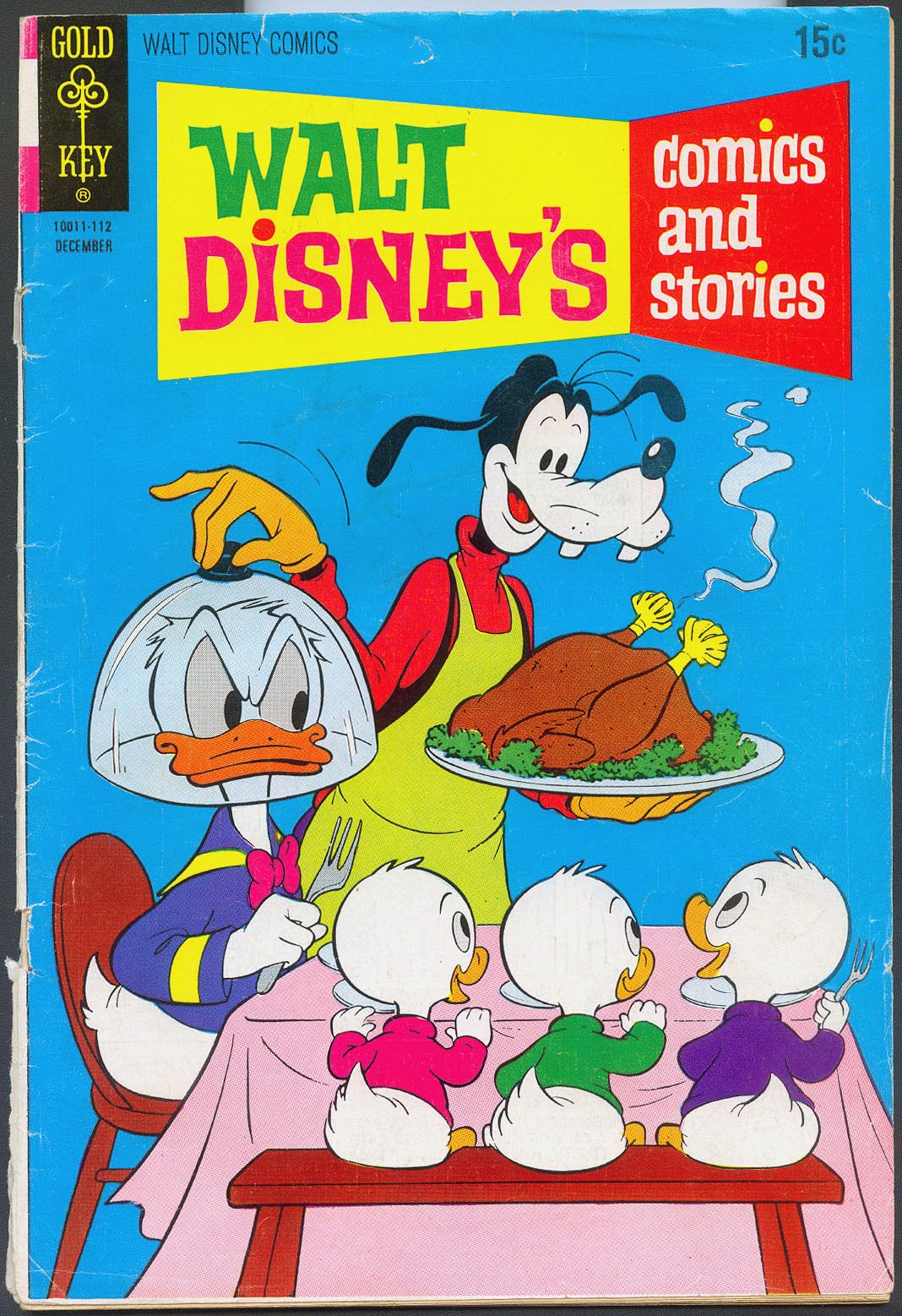 Walt Disneys Comics and Stories (Gold Key) 375 (Also Vol 32 - 3 ) -FR