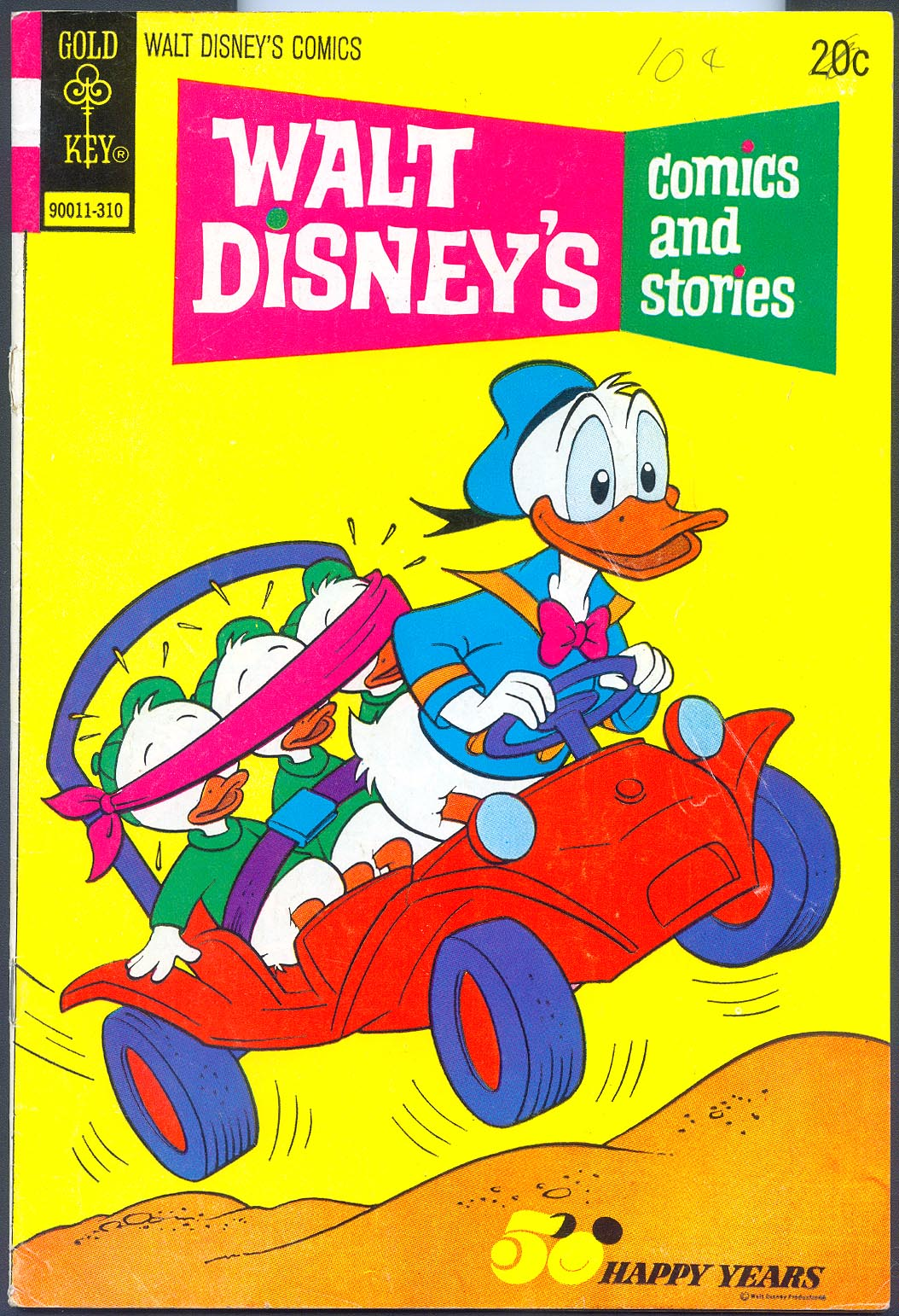 Walt Disneys Comics and Stories (Gold Key) 397 (Also Vol 34 - 1 ) -VG