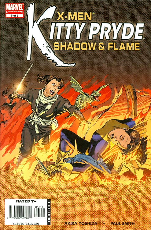 X-Men Kitty Pryde Shadow & Flame 5 (of 5 ) -F