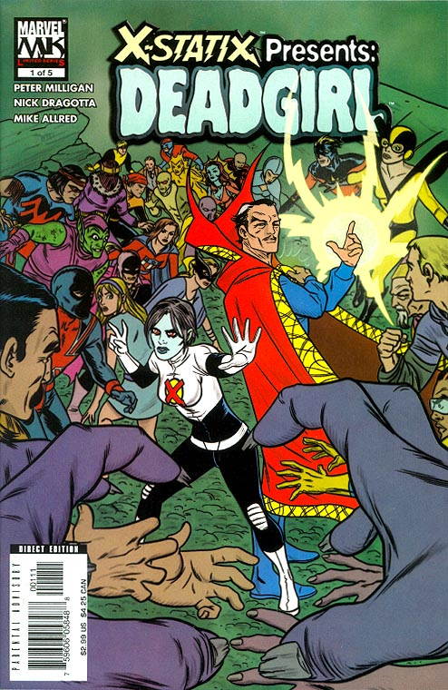 X-Statix Presents Dead Girl 1 (of 5 )