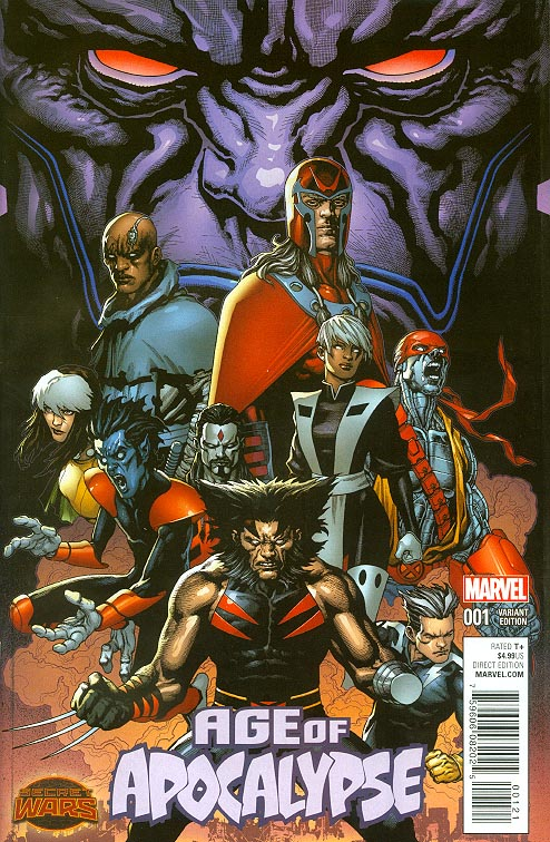 Age Of Apocalypse vol 2 - 1 ( 1 in 20 Andy Clarke Promo Variant)