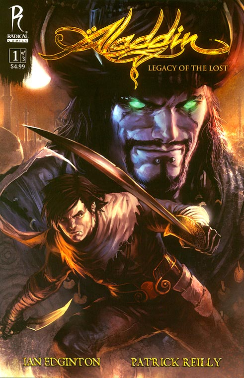Aladdin Legacy Of The Lost 1 A (of 3 ) (Marjo Djurdjevic Cover)