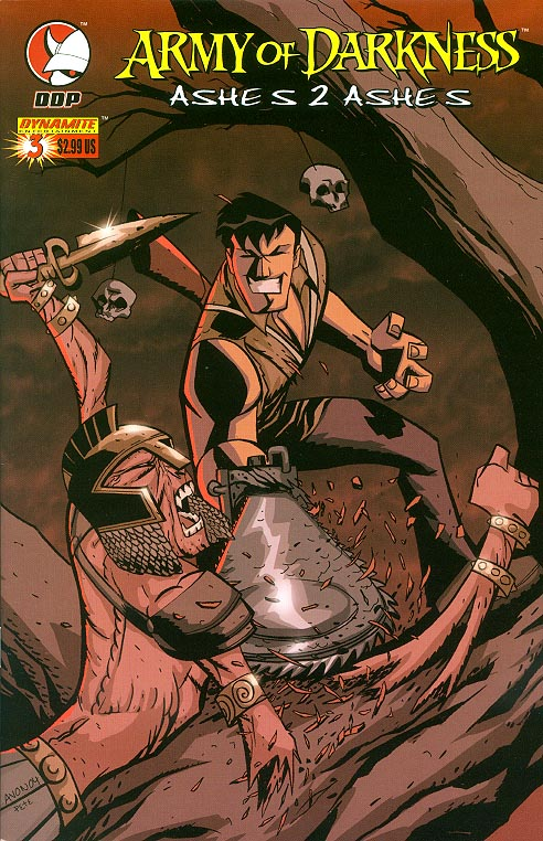 Army of Darkness Ashes 2 Ashes 3 (Oeming Cvr) -VFNM