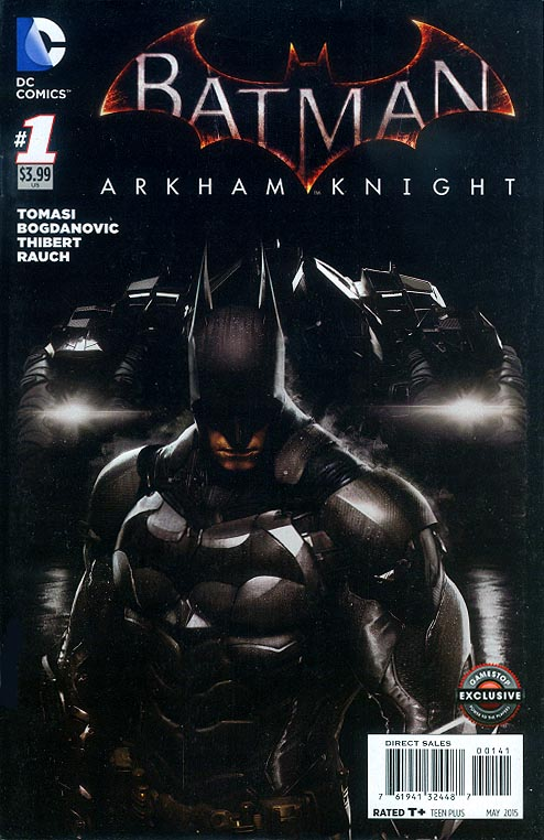 Batman Arkham Knight 1 (Game Stop Exclusive Variant)