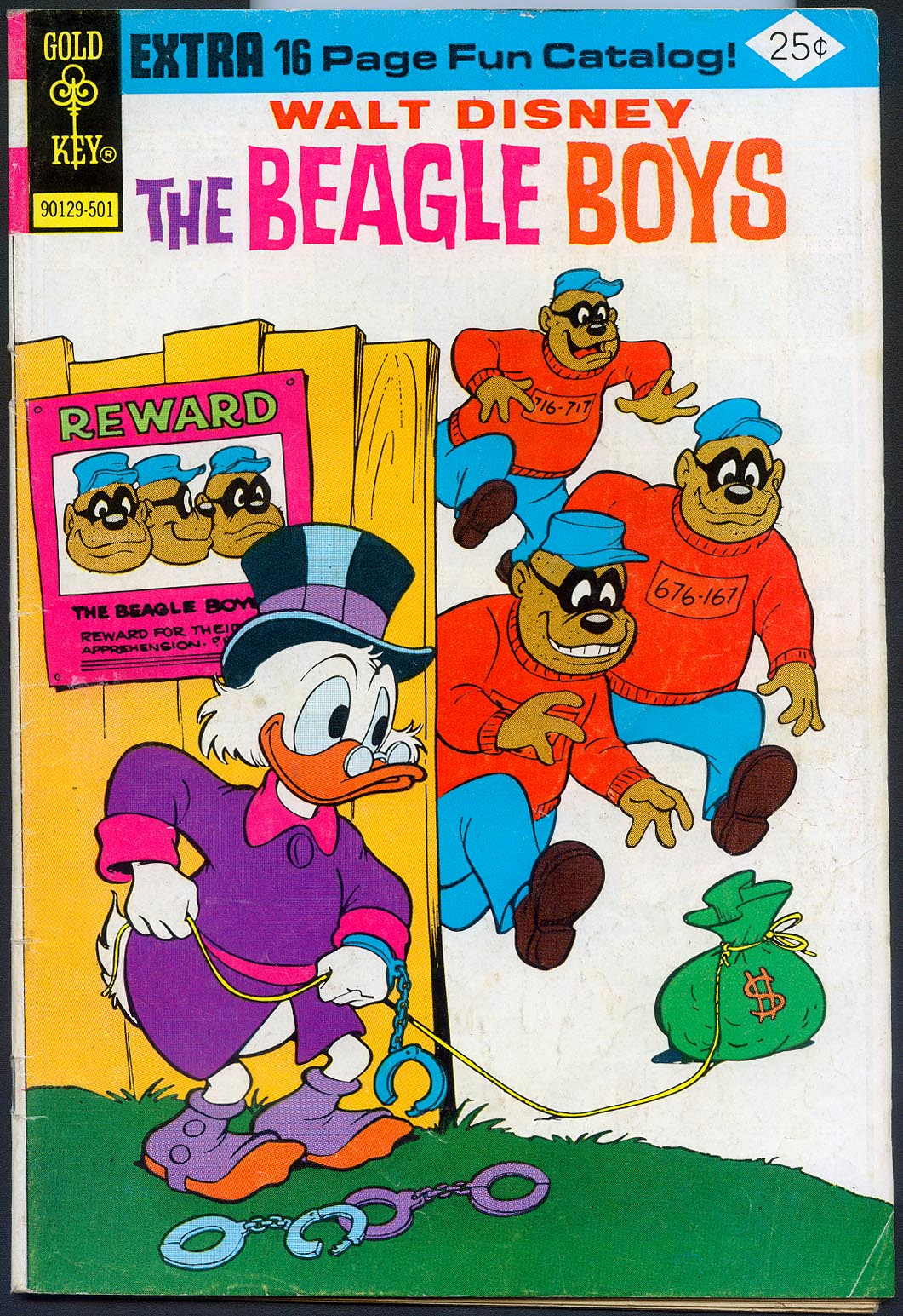 Beagle Boys (Gold Key) 23 -VGF