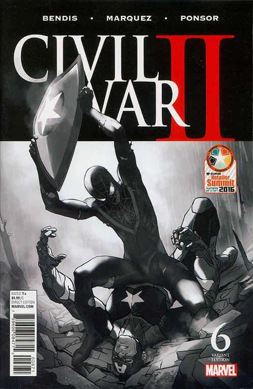Civil War II- 6 (RRP Diamond Retailer Summit 2016 Variant)