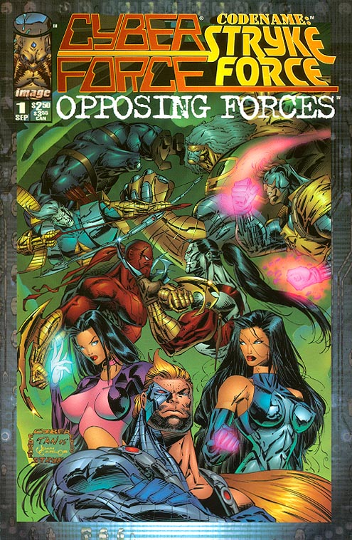 Cyberforce Codename Stryke Force Opposing Forces 1