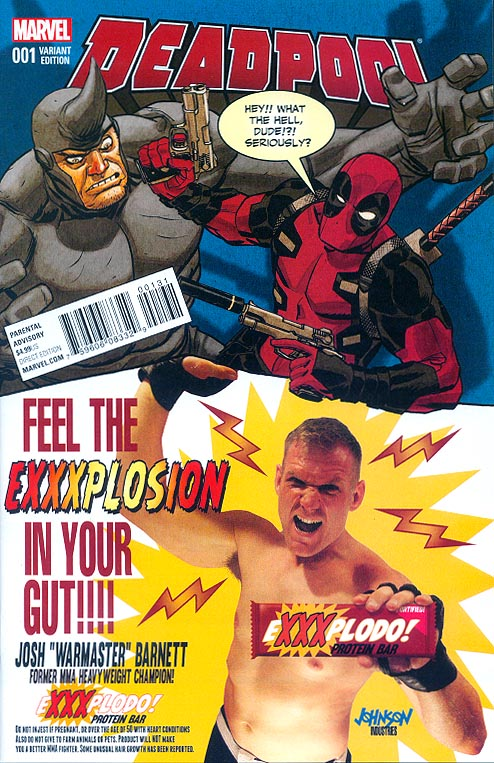 Deadpool vol 6 - 1 (Dave Johnson Candy Variant)