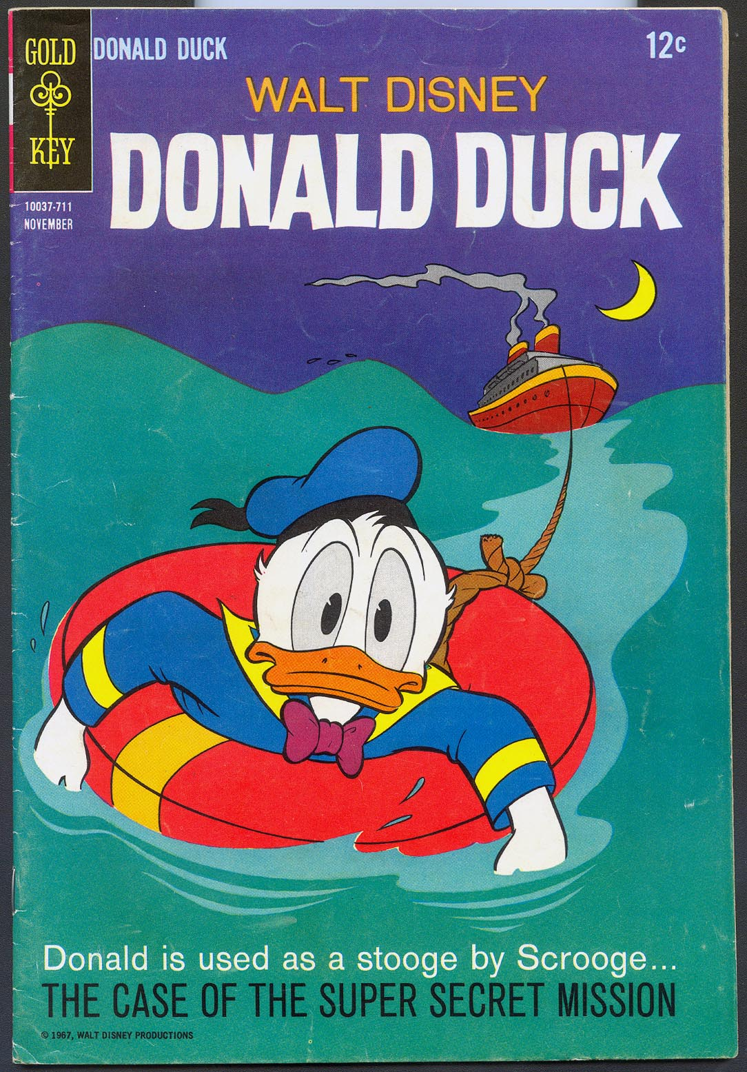Donald Duck (Gold Key) 116 -F