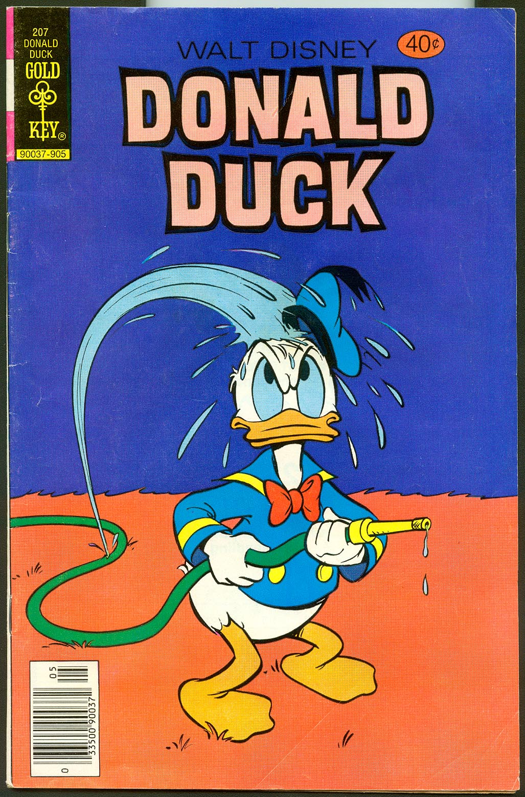 Donald Duck (Gold Key) 207 -VG