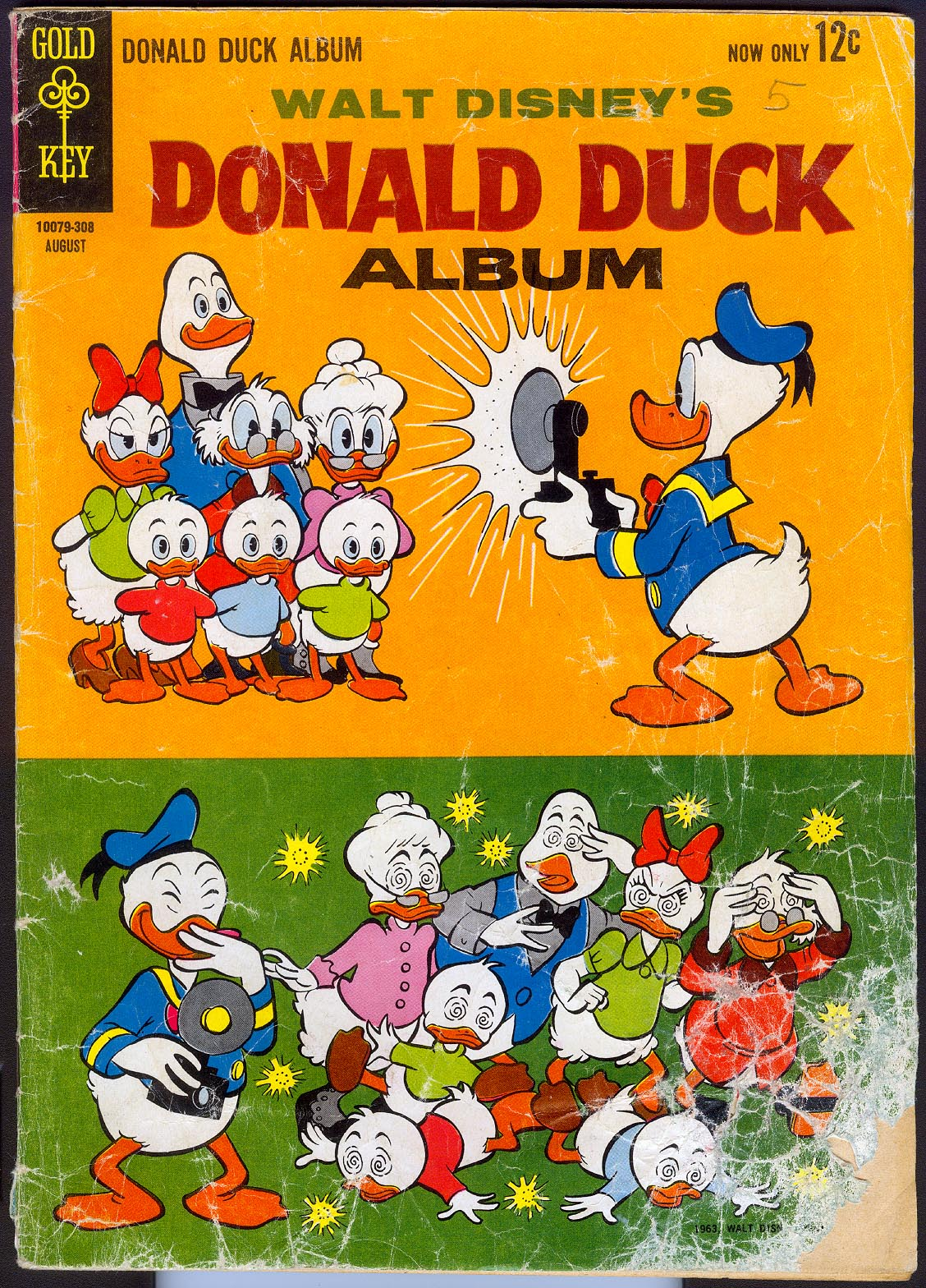 Donald Duck Album (Gold Key) 1 (No Ads) -FR