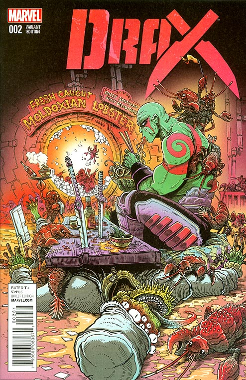 Drax 2 ( 1 in 25 James Stokoe Variant)