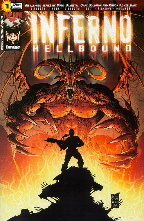 Inferno Hellbound 1 F (Michael Turner Cover)