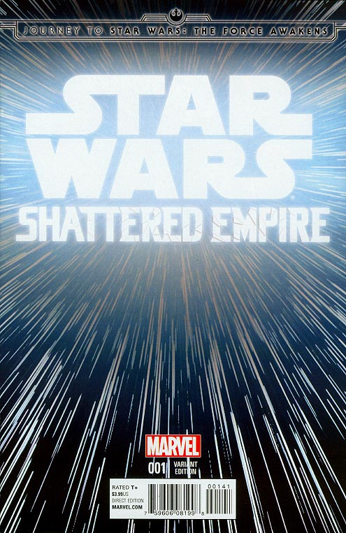 Journey To Star Wars The Force Awakens Shattered Empire 1 ( 1 in 20 Hyperspace Variant)