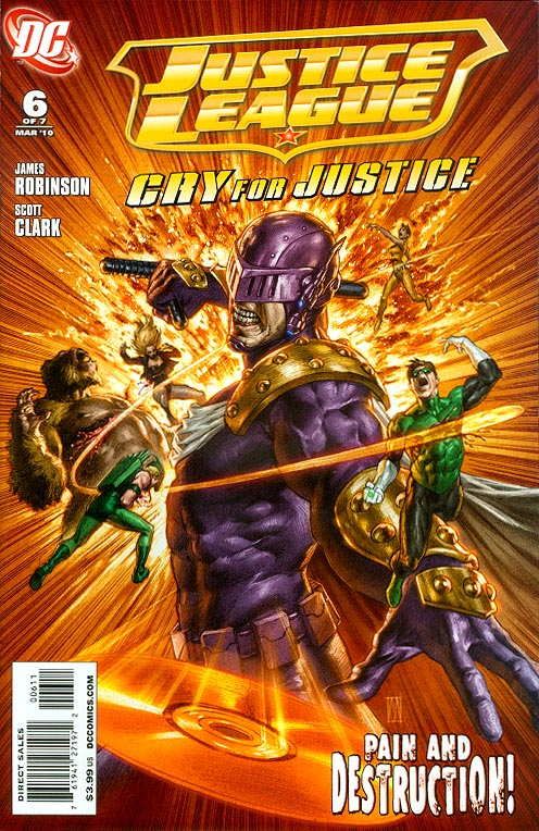 Justice League Cry For Justice 6 (of 7 )