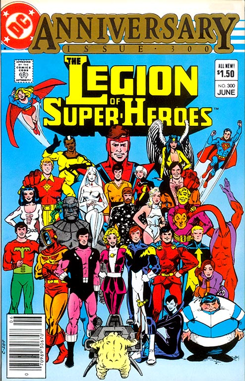 Legion Of Super-Heroes 300 -VF