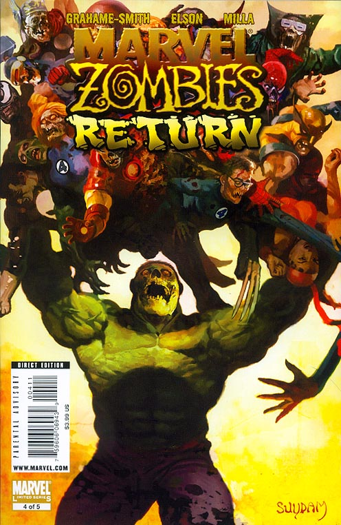 Marvel Zombies Return 4 (of 5 ) (Suydam Cover)