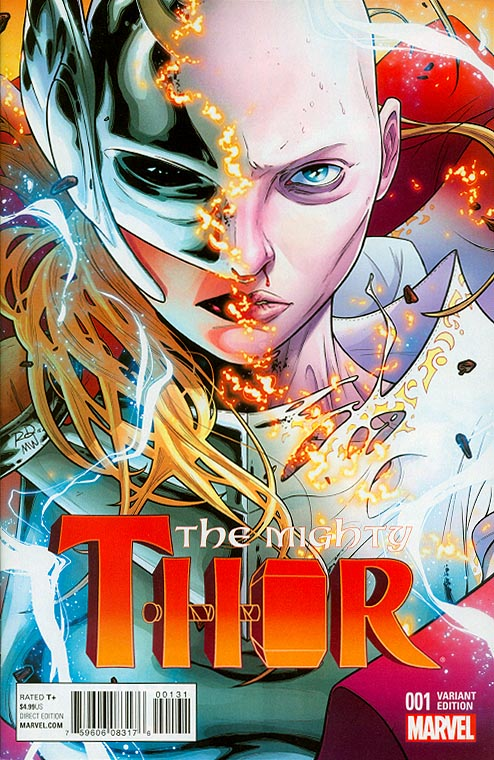 Mighty Thor vol 2 - 1 ( 1 in 20 Russell Dauterman Variant)
