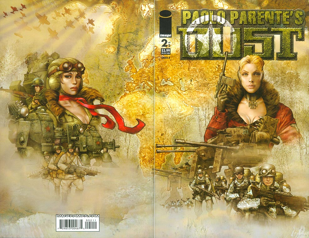 Paolo Parentes DUST 2 A (of 2 ) (Wraparound Cover)
