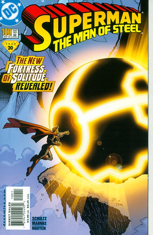Superman The Man Of Steel 100 (Gate Fold Cover)