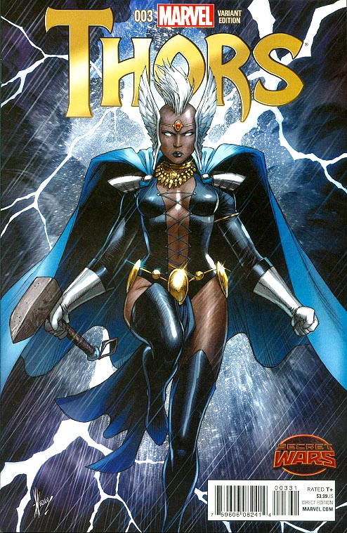 Thors 3 ( 1 in 25 Dale Keown Variant)