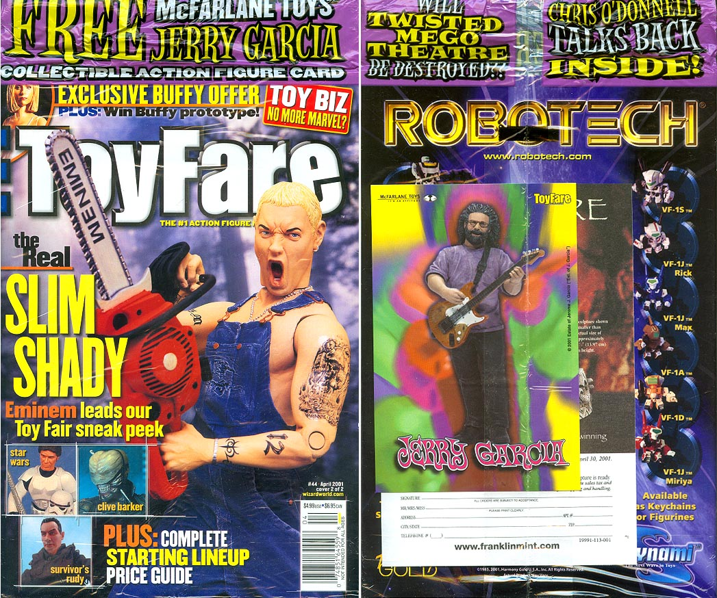 Toyfare Magazine 44 (Cover 2 of 2 ) (Front&Back Cvrs)
