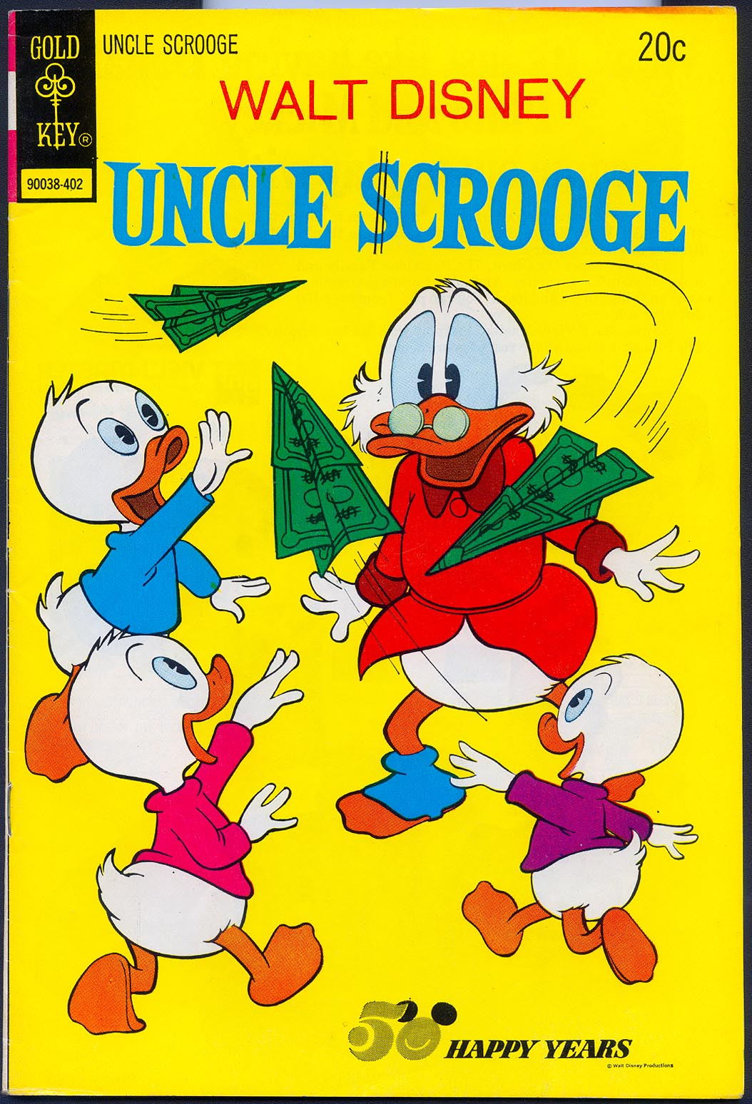 Uncle Scrooge (Gold Key) 110 -VF